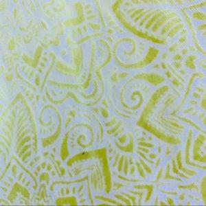 Prana Sweaters - Prana Open Front Cardigan Yellow Organic Cotton